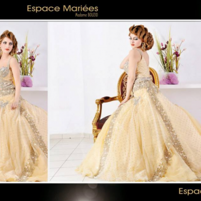 Madame Bouzid Robe de Mariée