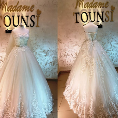 Madame Tounsi Pour les Robes de Mariées