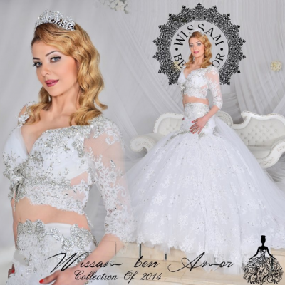Wissam Ben Amor Pour les Robes de Mariées