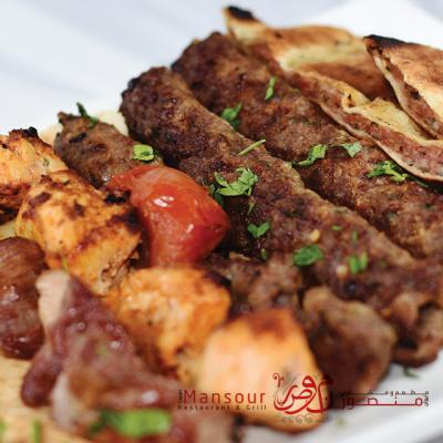 مطعم ومشاوي ليوان منصور