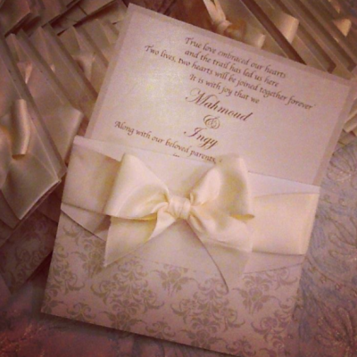 A7la Al-Awqat Wedding Cards