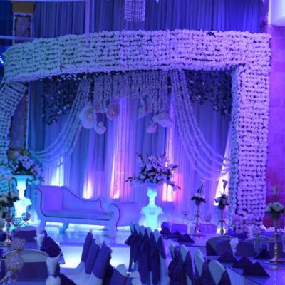 Lialy & Royal Blue Wedding Halls