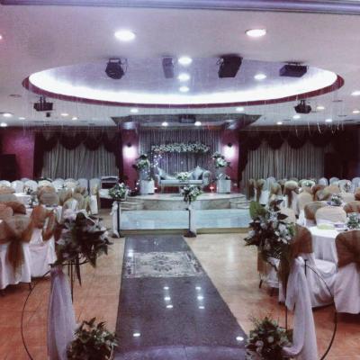 قاعات قصر الزمرد للآحتفالات