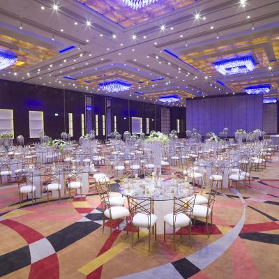 Al Baraka Ballroom - Crowne Plaza Thuraya City