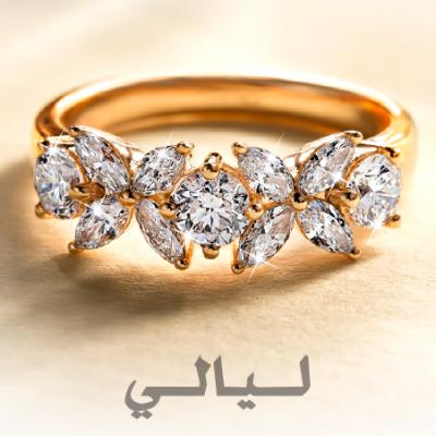 Wedding Rings Jewelry in Dubai Arabia Weddings