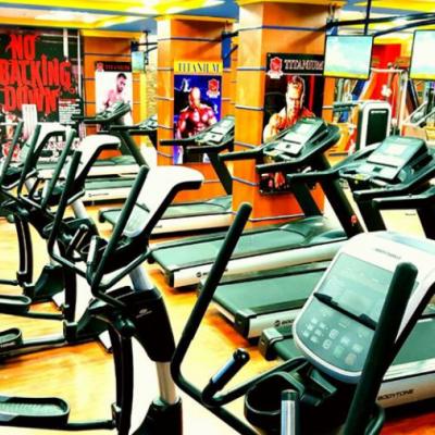 Titanium gym