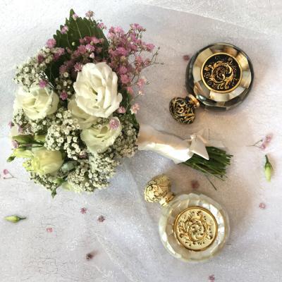 Perfumes as wedding favors