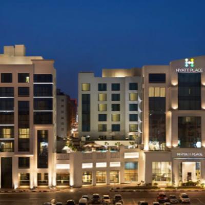 فندق حياة بليس دبي الرقة موقع العروس