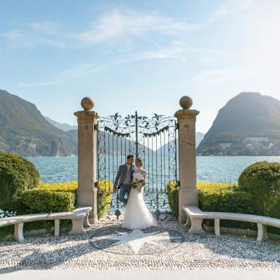 Destination Wedding in Lugano