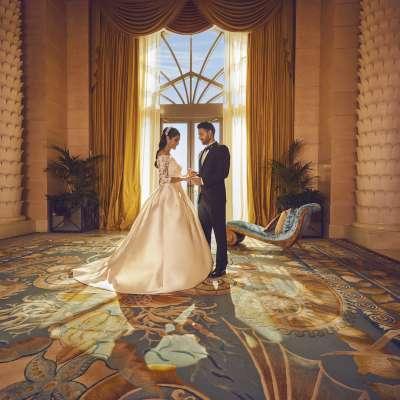 Atlantis The Palm 7 - the bride suite