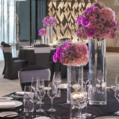 Sofitel Dubai The Obelisk - ballroom dinner
