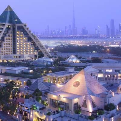 Raffles Dubai - exterior view