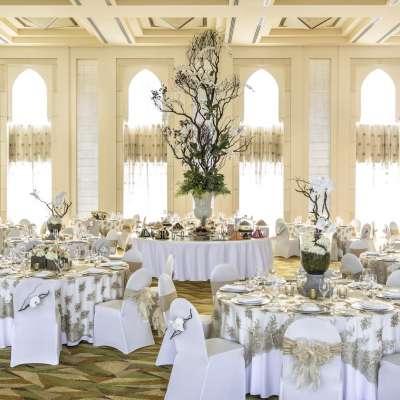 حفلات الزفاف في شانغريلا دبي