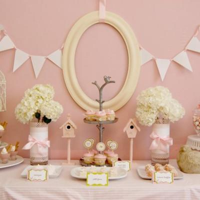 Spring-themed Shower Party Eats and Treats