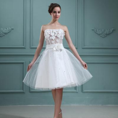 Lovely Short Wedding Dresses