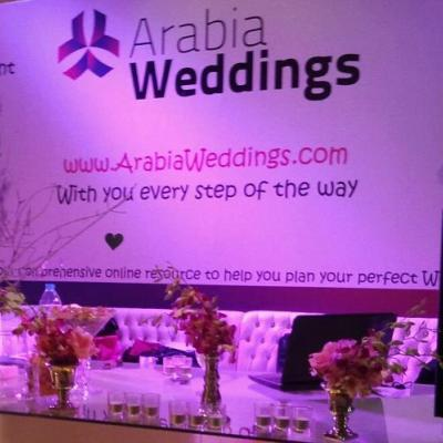 Arabia Weddings Concludes Three Day Participation at Jordan's Wedding Show