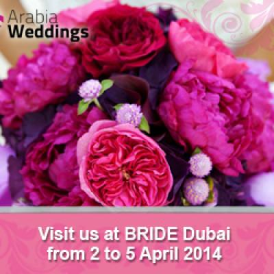 Arabia Weddings Participates in Bride Dubai 2014