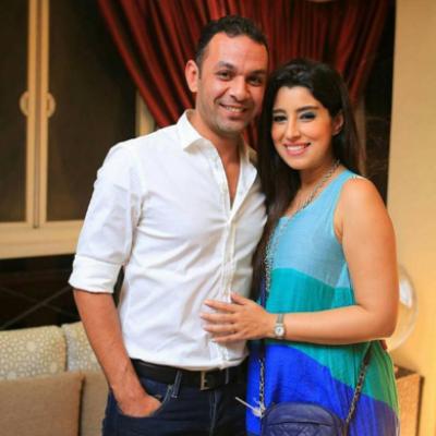 آيتن عامر تحتفل بعيد ميلاد زوجها على الانستغرام