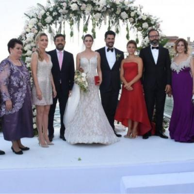Pictures: Fahriye Evcen and Burak Ozcivit Get Married