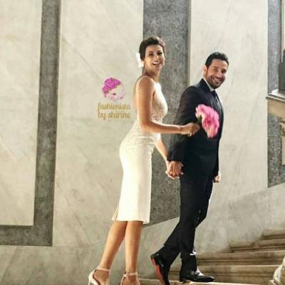 الصور الأولى من حفل زفاف وسام بريدي وريم السعيدي