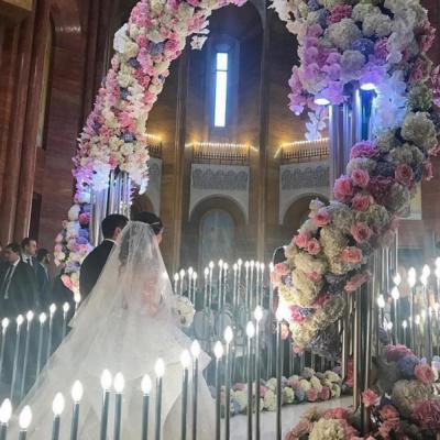 Pictures: Armenian Billionaire's Wedding Takes Over Social Media