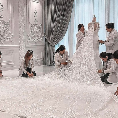Michael Cinco Designs Most Unique Wedding Dress During His Career