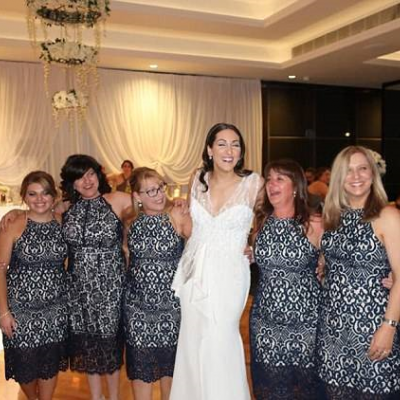 6 Wedding Guests Wear Same Dress by Coincidence