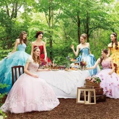 Disney Launches New Range of Disney Princess Inspired Wedding Dresses