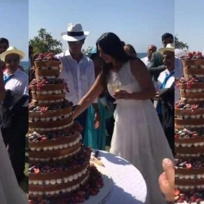Pictures: Former Miss Lebanon Nisrine Nasr Gets Married