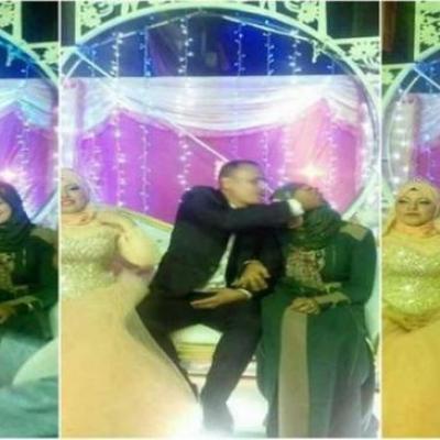 مصرية تحضر حفل زفاف زوجها بأخرى!