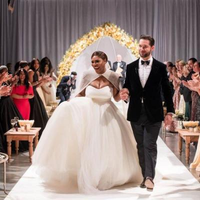 Pictures: Serena Williams and Alexis Ohanian's Wedding