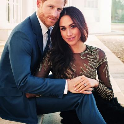 The Stunning Engagement Pictures of Prince Harry and Meghan Markle