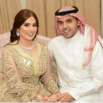 Hamoud Al Fayez and Roaa Al Sabban Ger Married