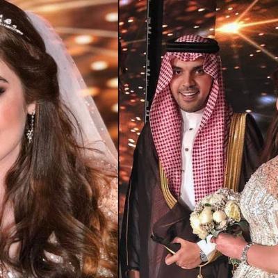 Pictures: Hamoud Al Fayez and Roaa Al Sabban Have Second Wedding in Dubai