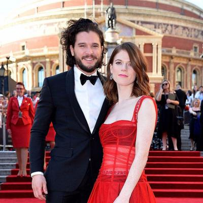 Pictures From Kit Harington and Rose Leslie's Wedding