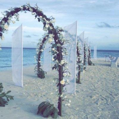 Pictures: Sarah Al Wadaani Gets Married in The Maldives