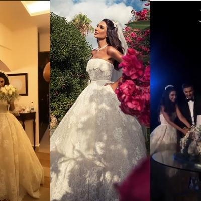 Pictures: Aline Watfa and Khaled Al Mawla's Wedding