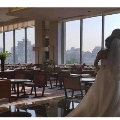 بالصور: حفل زفاف معز مسعود وشيري عادل