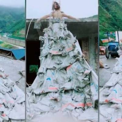 Strangest Wedding Dress Ever Seen Yet