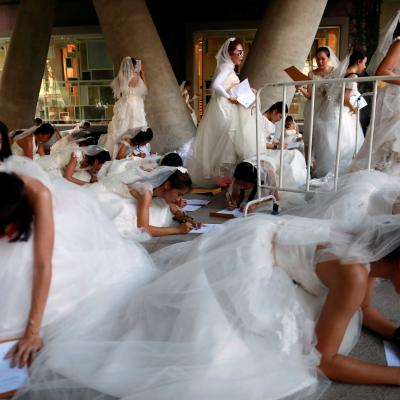 Pictures: Thailand's Bridal Race