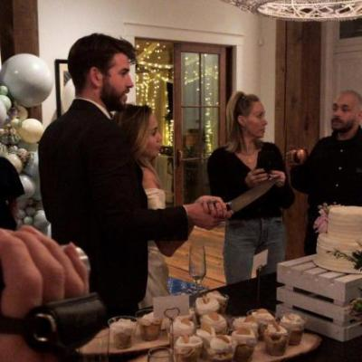 Miley Cyrus and Liam Hemsworth's Wedding