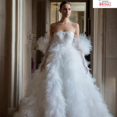 Peter Langner Wins Best Bridal Gown Award