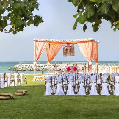 Pearl Garden at Fairmont Ajman - outdoor wedding