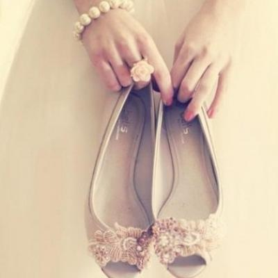 Flats for the Tall Bride