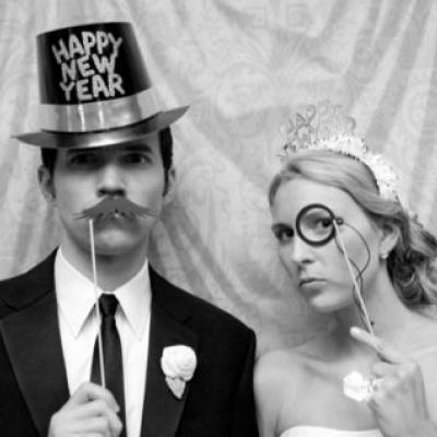 3, 2, 1 Happy New Year's Wedding!