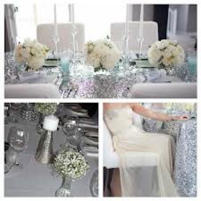 A Frosty Wedding in Silver