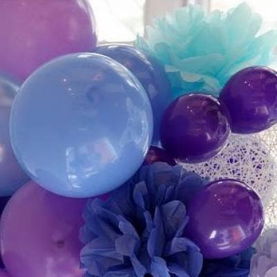 Your Wedding in Colors: Purple and Blue