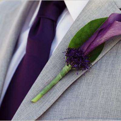 Your Wedding in Color: Lavender and Grey