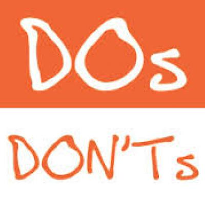 Wedding Dos and Don'ts You Should Know