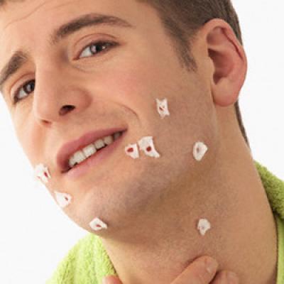 معالجة الجروح التي تسببها الحلاقة